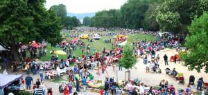 Stadtteil Vorderer Westen Kinderflohmarkt Goethepark