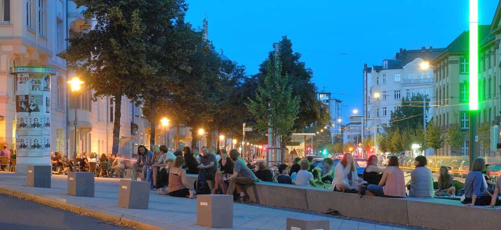 Stadtteil Vorderer Westen Rudolphsplatz