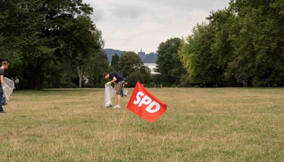 Pressemitteilung: SPD-Ortsverein ruft zum Aufräumen der Goethe-Anlage auf